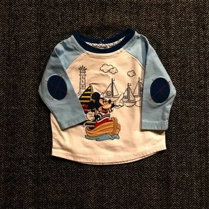Disney baby Mickey Mouse long sleeved T-shirt 3-6m
